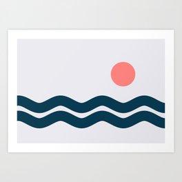 Nautical 06 No.2 Art Print