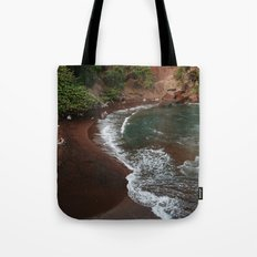 Maui in Red Tote Bag