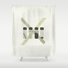 x-files Shower Curtain