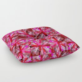 Ultimate Pink Pattern Floor Pillow