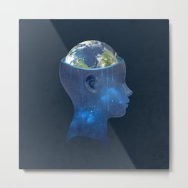 imagine nations Metal Print