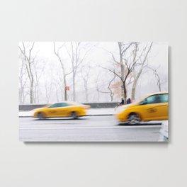 City Winter Metal Print