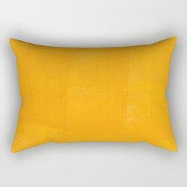 Orange Yellow Paint (Color) Rectangular Pillow