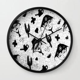 Lampiao e Maria Bonita Wall Clock