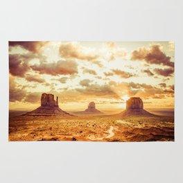 Monument Valley Sunrise Rug