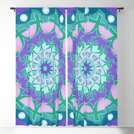 Soul Healing Mandala Blackout Curtain