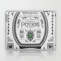 Legend of Zelda Green Chu Potion Advertisement Laptop & iPad Skin