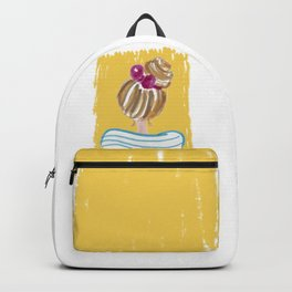 Hair Bun #society6 #buyart Backpack