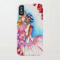 utena iPhone & iPod Cases featuring Manga Utena & Anthy by Purple Alien
