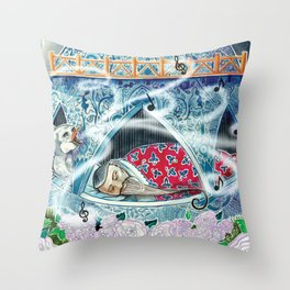 The Nightingale Series - 8 of 8 Throw Pillow