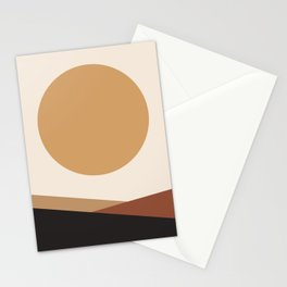 NUOVO GIORNO - the NEW DAY - Modern abstract art Stationery Cards