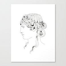 roman head Canvas Print