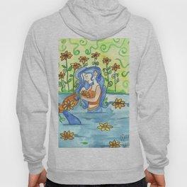 Sunflower Mermaid Hoody
