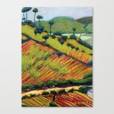 Corn and Beans Canvas Print