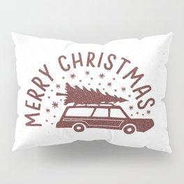 Merry Christmas Station Wagon Pillow Sham