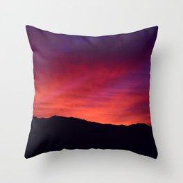 SW Mountain Sunrise - 5 Throw Pillow