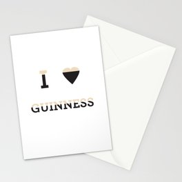 I heart Guinness Stationery Cards