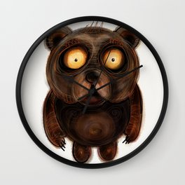 Teddy Bear Wall Clock