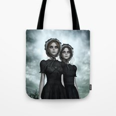 Deadly Halloween Twins – They are coming Tote Bag