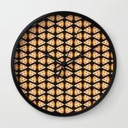 Pizza lovers Wall Clock