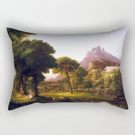 Thomas Cole Dream of Arcadia Rectangular Pillow