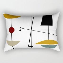Mid Century Art 11 Rectangular Pillow