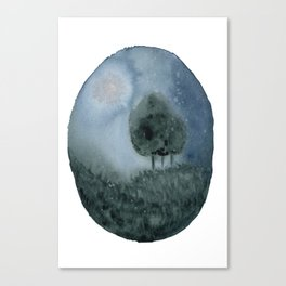 Midnight Meadow Canvas Print