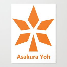 Asakura Yoh - Shaman king Canvas Print