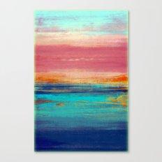 Retro Sunset Canvas Print