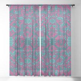 """Garden"" series #5 Sheer Curtain"