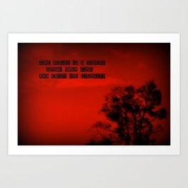 Red Hot LOVE! Art Print