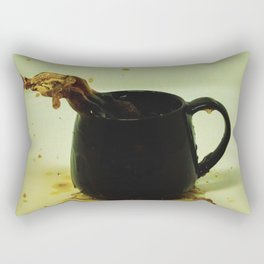 Drink coffee every morning to be better person Rectangular Pillow