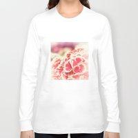 hydrangea Long Sleeve T-shirts featuring Hydrangea by Julia Tomova