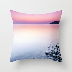 Deganwy Sunset Throw Pillow