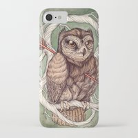 caitlin hackett iPhone & iPod Cases featuring Wisdom Wounded by Folly by Caitlin Hackett
