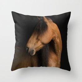 Horse Fine Art Throw Pillow
