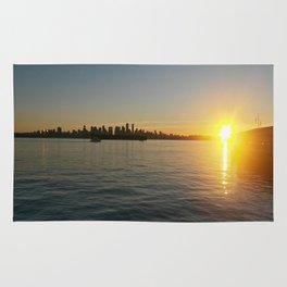 Vancouver Sunset Rug