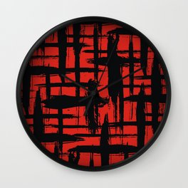 Cruces Negras Wall Clock