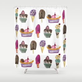 Flavors of Summer Shower Curtain