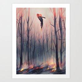 smoulder Art Print