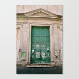 In Trastevere Style  Canvas Print