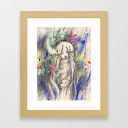 Mary I (Cocoon) Framed Art Print