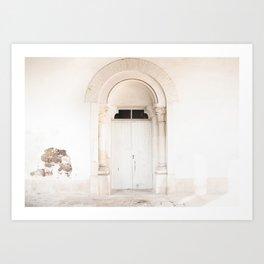 The White Door Art Print