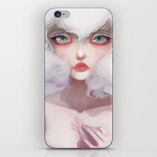 Le coeur des crocus... iPhone & iPod Skin