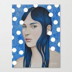Bulles d'or Canvas Print