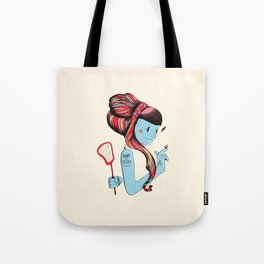 Short & Feisty Tote Bag