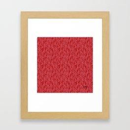 Feathered Flocks - Pomegranate Framed Art Print