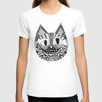 cheshire cat T-shirts featuring  CHESHIRE CAT by Vasare Nar