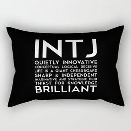 INTJ (black version) Rectangular Pillow