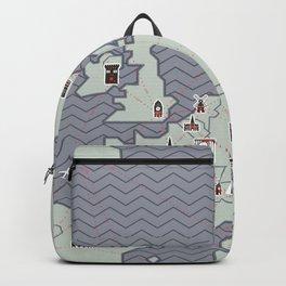 European Capitals - Map Backpack